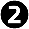 """Icon mit der Zahl """"2""""."""