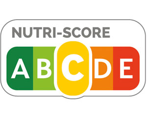 "Nutriscore, das gelbe ""C"" ist hervorgehoben."