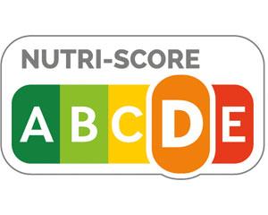 """Nutriscore, das orange """"D"""" ist hervorgehoben."""